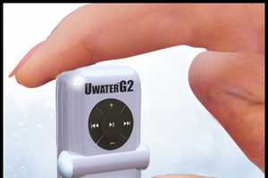 UWaterG2 from Fitness Technologies is a Tiny Waterproof MP3 Player
