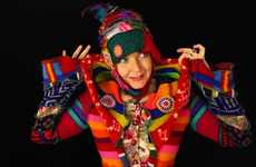 Psychadelic Dreamcoats - 'Recycled Sweater Coats' Are Vibrant, Eco-Friendly Masterpieces