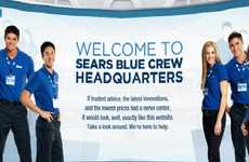 Retail Blogging Armies - The Sears Blue Blogger Crew Enlists Veteran Bloggers for Full Force Tech