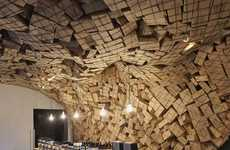 Corrugated Cave Displays