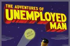 Jobless Caped Crusaders - 'The Adventures of Unemployed Man' Follows an Out-Of-Work Avenger