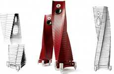 Spiralled Speakers