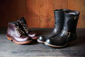Viberg and Take 5 collaborate to Create Awesome Rustic Boots
