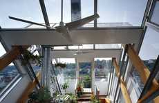 Sensational Sunrooms - Studio d'ARC Retrofits 19th Century Building with Awesome Greenhouse