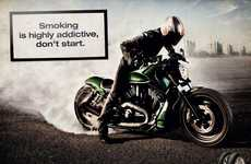 Smoking Biker PSAs