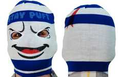 Monstrous Marshmallow Masks - The Stay Puft Ski Mask Will Bring Bill Murray out of Retirement