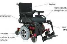Terrain-Sensing Wheelchairs