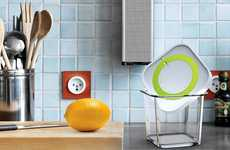 Countdown Containers - Min Seong Kim's Time Clock Lessens Waste and Keeps Your Fridge Clean