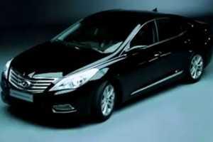 The 2012 Hyundai 'Grandeur' Promises Luxurious Driving