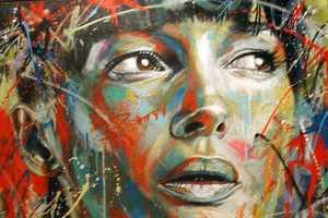 David Walker Creates Graffiti Pieces of Complete Strangers