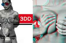 3D Breast Brochures - Henry Hargreaves' '3DD Boob Book' Keeps Readers Abreast