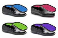 Color-Spectrum Soles - Harrys of London Puts Some Color in Your Step