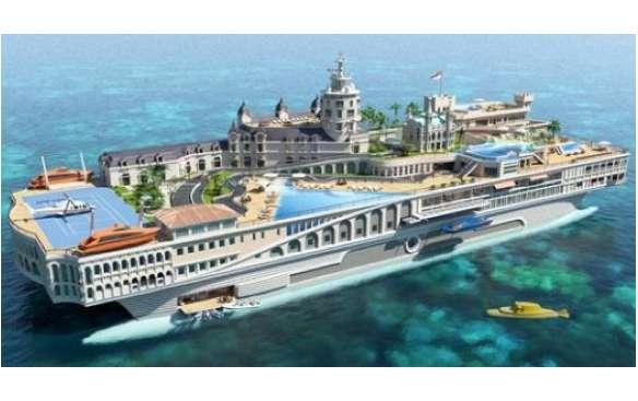 Island-Imitating Ships