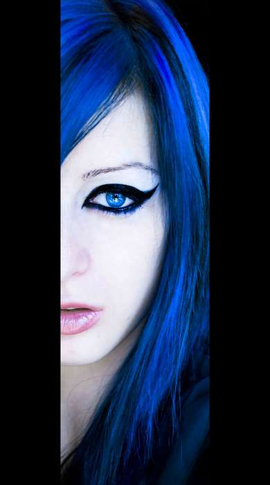 Girls With Blue Hair