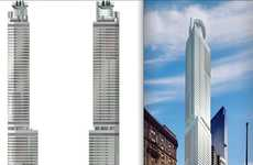 Twin Tower Hotels - The 1717 Broadway Marriott Hotel Will Make You Do a Double Take