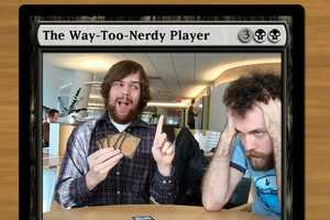 'Magic the Gathering' Cards Gets a Geeky Makeover