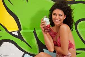 The Jessica Szohr Sobe Lifewater Campaign is Cute Yet Racy