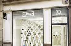 The Valencia Munich Store Incorporates Art and Design