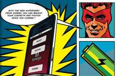 Superhero Smartphone Docks - The Iomega Superhero Backs Up Your iPhone's Info