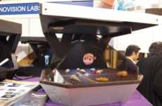 3D Holographic TVs - Innovision Labs' HoloAd Diamond Ushers in a New Era of Entertainment