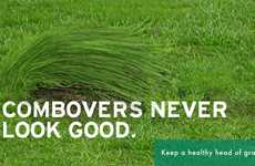 Scotts PatchMaster Ads Promote a Healthy Head of Grass