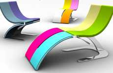 Candy-Colored Convertible Chairs