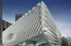 Monolithic Museums - Diller Scofidio and Renfro Design an Epic Veiled Structure