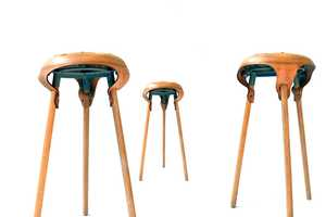The Werkkruk is Modeled After Classic Bicycle Seats