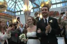 Couple Gets Hitched in a Flash Mob Wedding