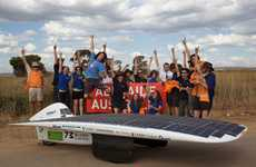 Speedy Solar Cars - The Sunswift 'IVy' is the World's Fastest Solar Vehicle
