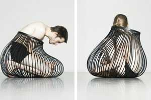 Bendable 'Bidum' Containers by Laetitia Florin