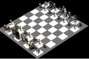 The Star Wars Droid Chess Set Pits C-3PO Against R2-D2