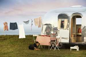 The Vintage Airstream Trailers Campaign Depicts Families of All Kind