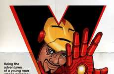 Cinematic Superhero Crossovers - Online Contest Brings Stanley Kubrick & Iron Man Together