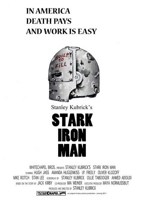 Stanley Kubrick Iron Man