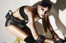 Athletic Cycling Shoots - Style Singapore January Captivates With Couture Cyclist Looks