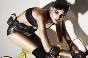Style Singapore January 2011 Captivates With Couture Cyclist Looks