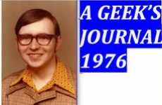 Retro Geek Blogs - 'A Geek's Journal -- 1976' is Made Up of Actual Diary Entries