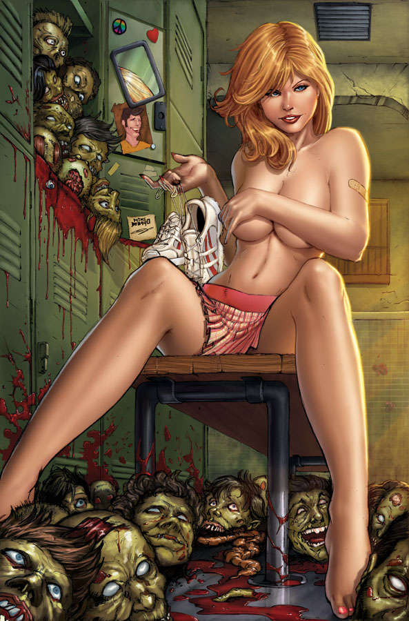 Revealing Gory Graphic Art
