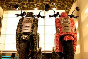 Bape and Aeon Scooters Team Up to Give You Some Stylish Rides