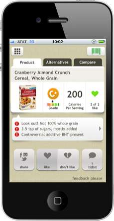 Educational Food Apps - The Fooducate App is a Downloadable Nutritionist