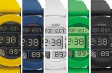Simplistic Plastic Timepieces - The Unit by NIXON is Fresh and Functional