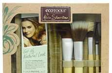 Celebrity Eco Cosmetics - The Alicia Silverstone EcoTools Collection is Earth-Friendly