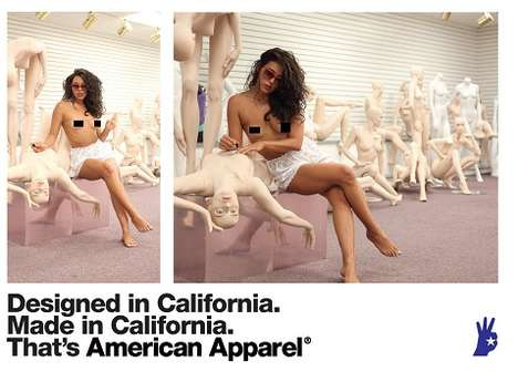 American Apparel 2011 Ads