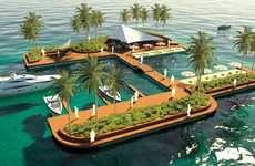 Luxurious Floating Playgrounds