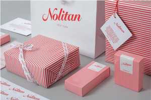 Delectable Red and White Nolitan Hotel Branding by Marque Creative