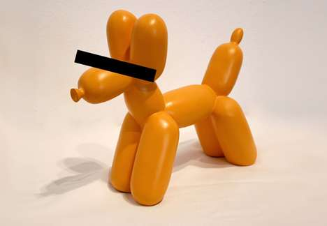 Copyrighted Balloon Critters - Jeff Koons Claims Ownership of Iconic Balloon Dog