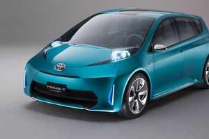 The Toyota Prius C Concept Vehicle Breaks New Boundaries
