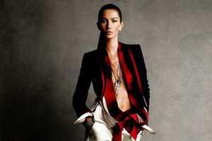 Gisele Bundchen Gets Boyish for Vogue China February 2011
