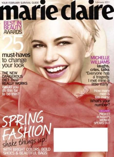 Michelle Williams Marie Claire